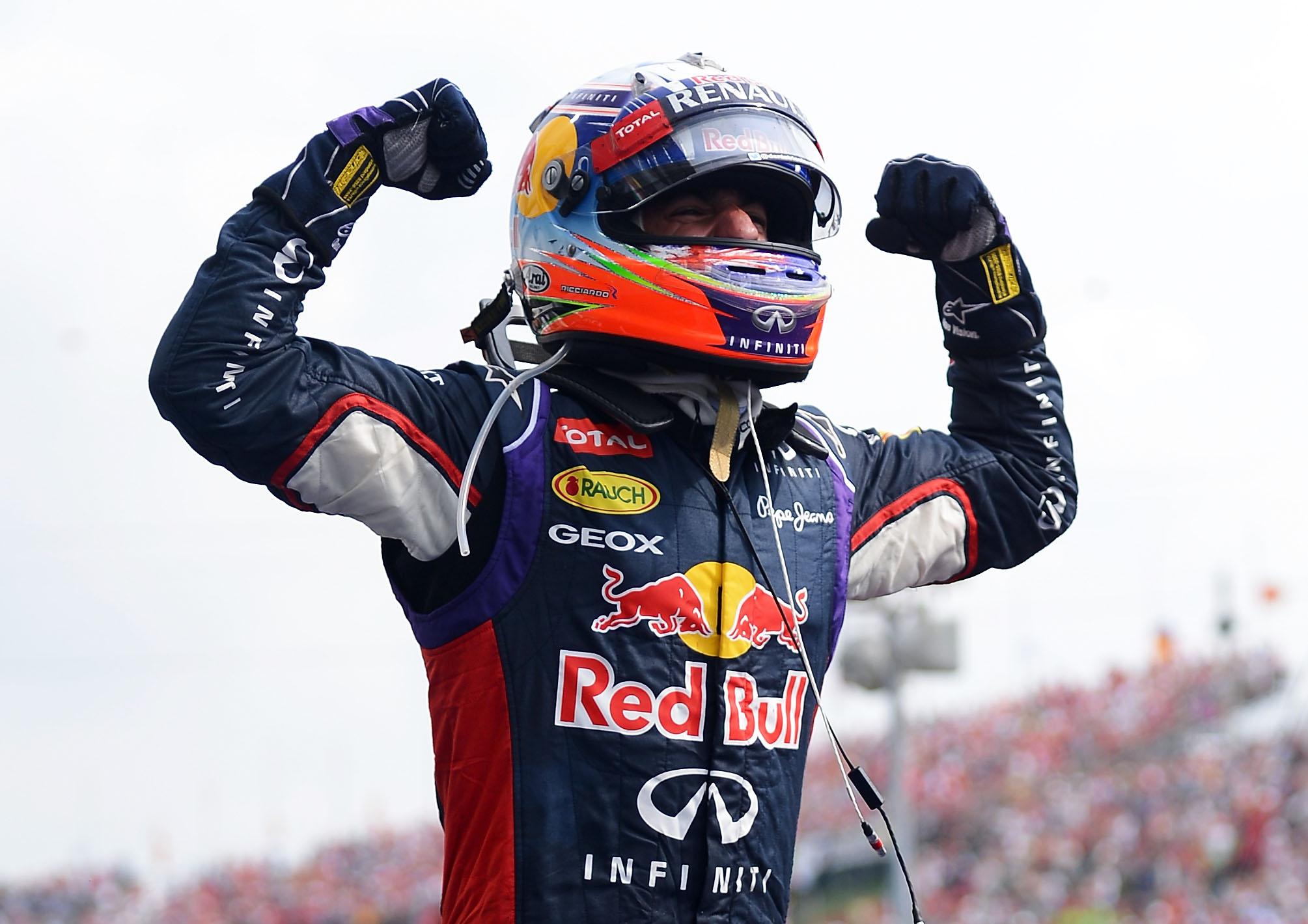 Daniel Ricciardo Węgry 2014
