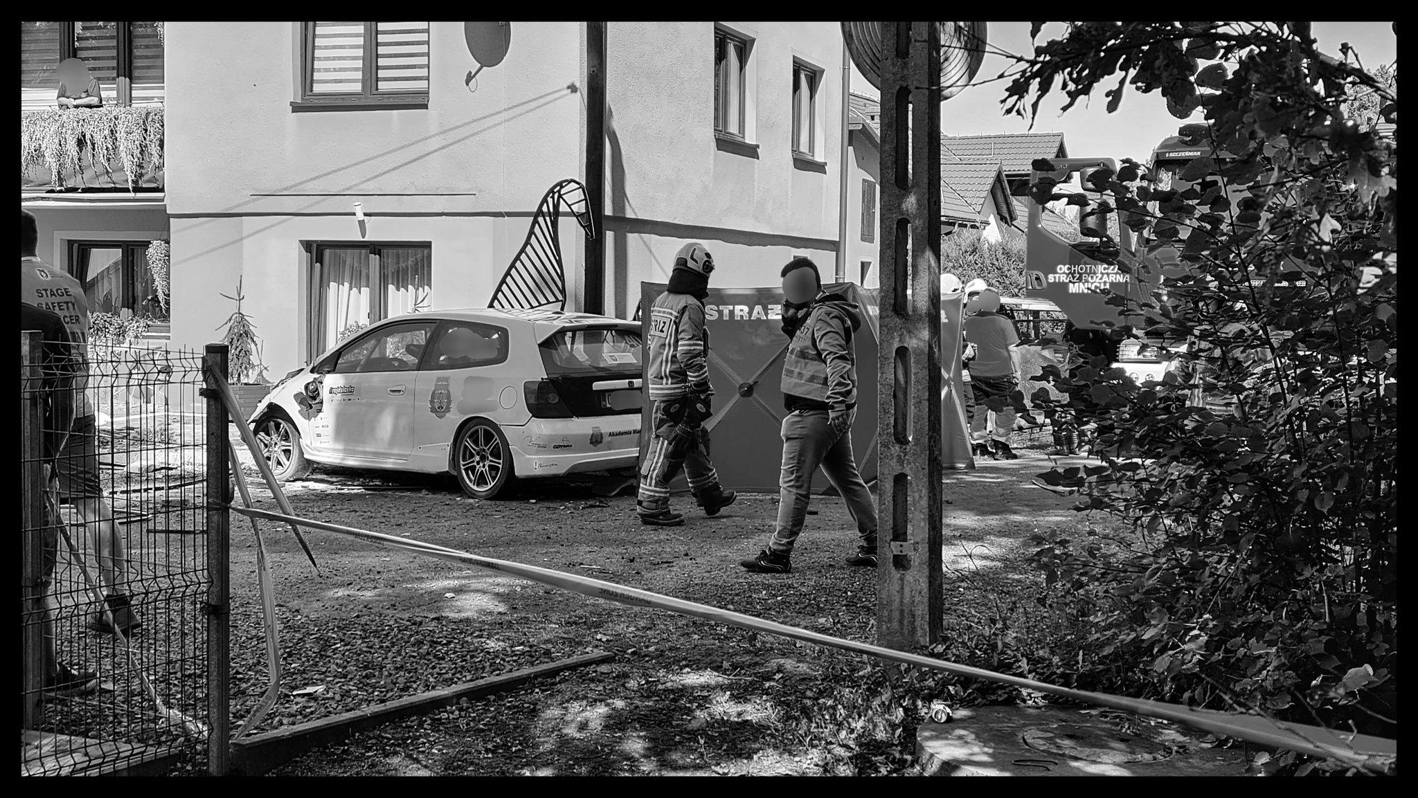 Rajd Śląska: Wypadek załogi numer 40 - Rajd zakończony!