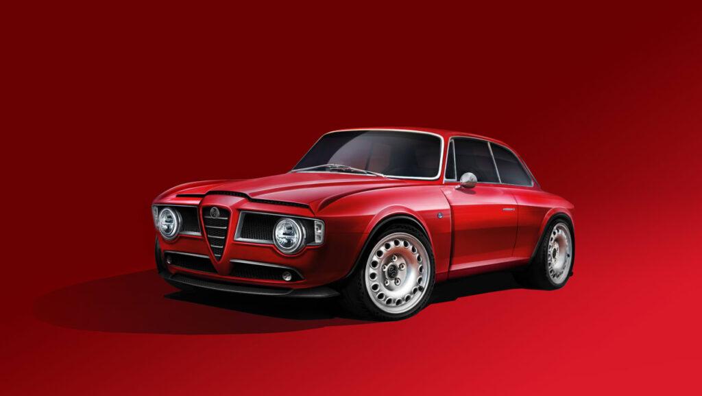 Alfa Romeo GT jako 500-konny restomod – piękna i bestia równocześnie