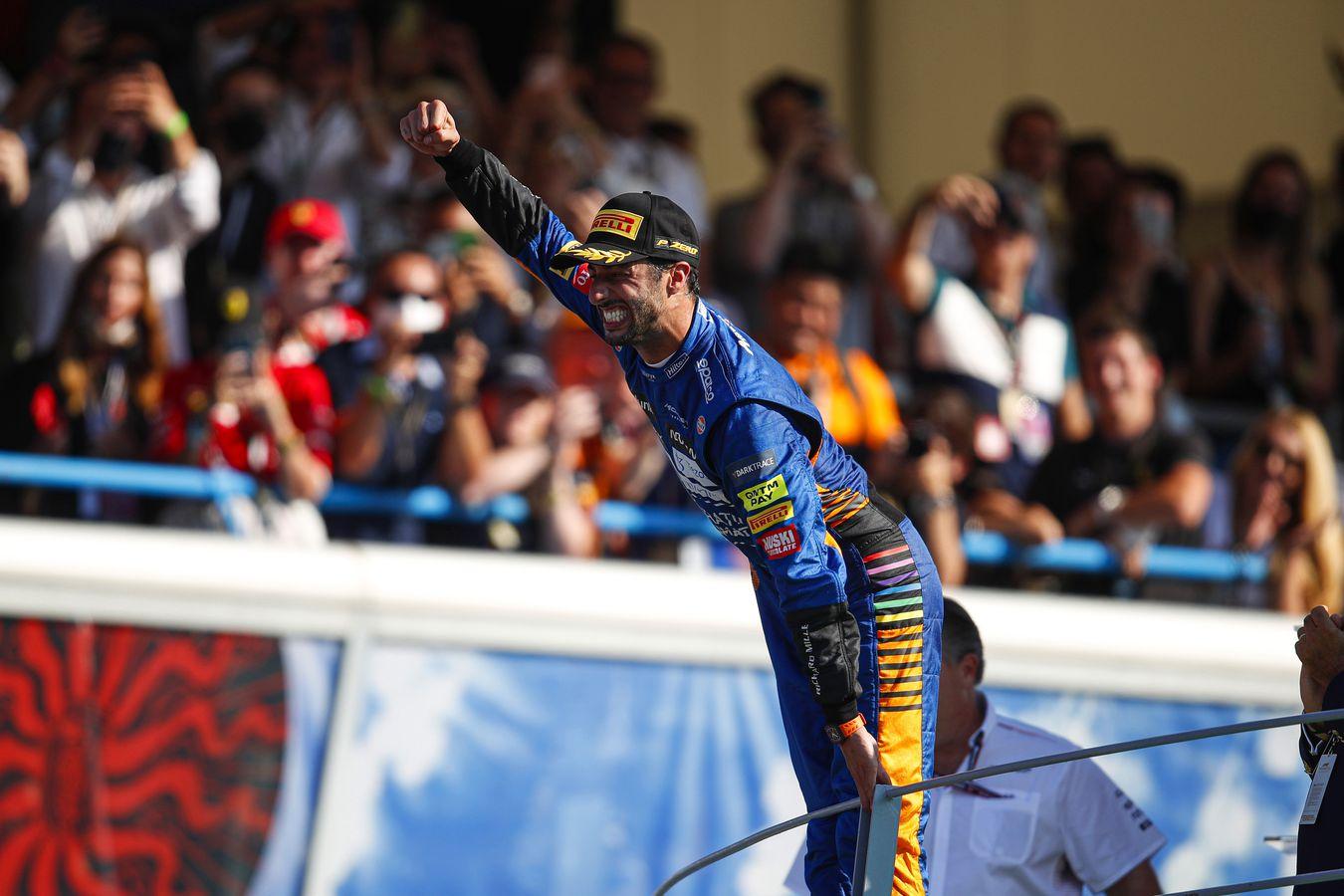 Daniel Ricciardo Italian GP 2021