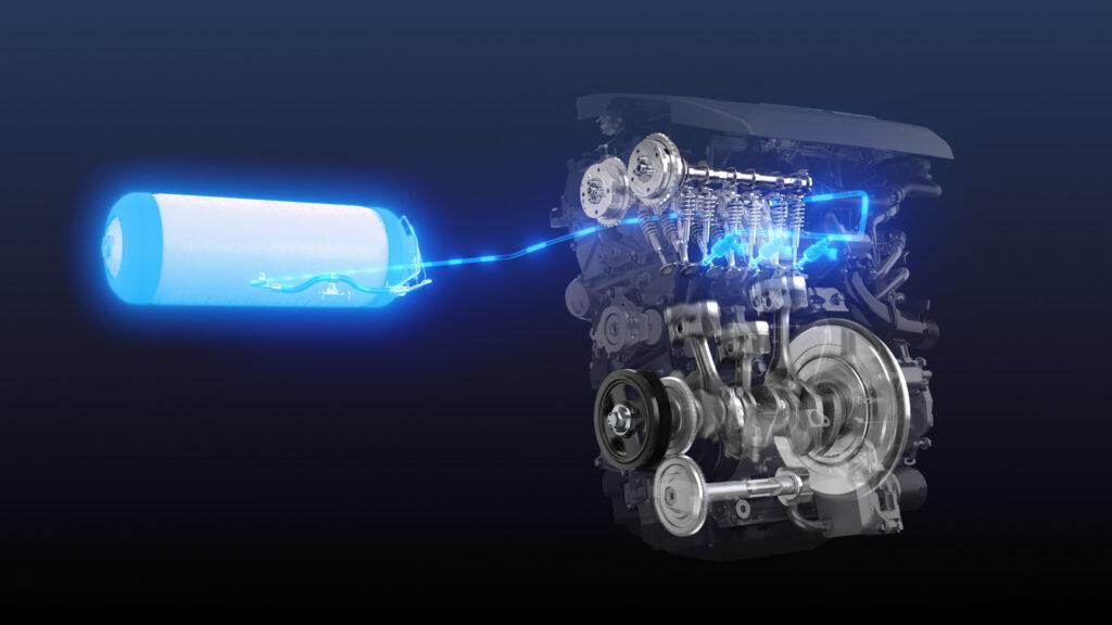 Toyota twierdzi, że ich wodorowy silnik spalinowy dorównał mocy benzynie