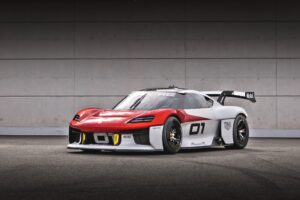 Porsche Mission R – kolejny elektryczny eksperyment stworzony na tor