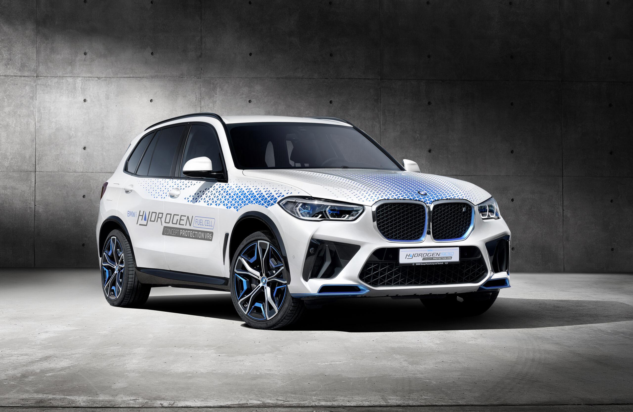 BMW prezentuje koncepcyjnego SUVa na wodór - model iX5 Hydrogen