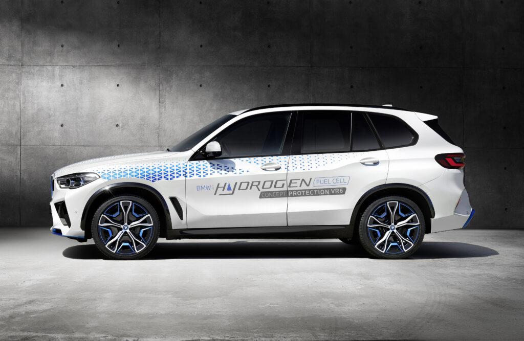 BMW prezentuje koncepcyjnego SUVa na wodór – model iX5 Hydrogen