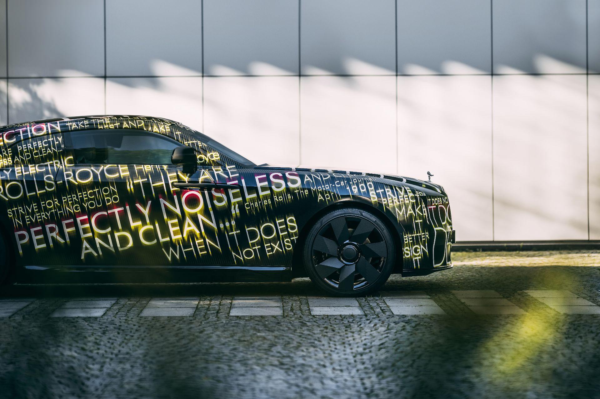 Rolls Royce zapowiada swój pierwszy model elektryczny - debiut w 2023
