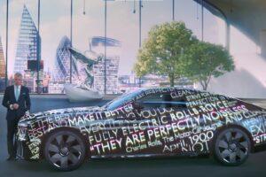 Rolls Royce zapowiada swój pierwszy model elektryczny – debiut w 2023