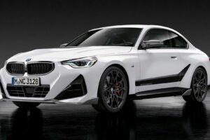 BMW serii 2 z pełnym pakietem M Performance wygląda agresywnie