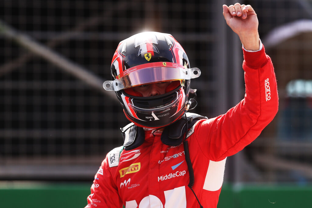 Arthur Leclerc najlepszy w porannym wyścigu F3 w Holandii