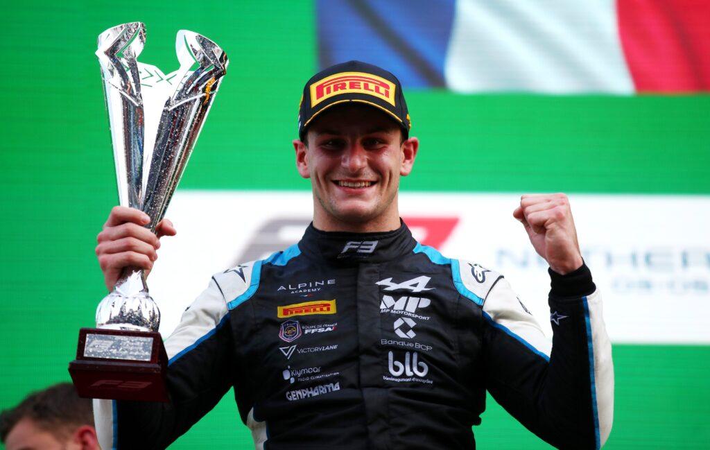 Victor Martins odnosi premierowe zwycięstwo w Formule 3 na Zandvoort