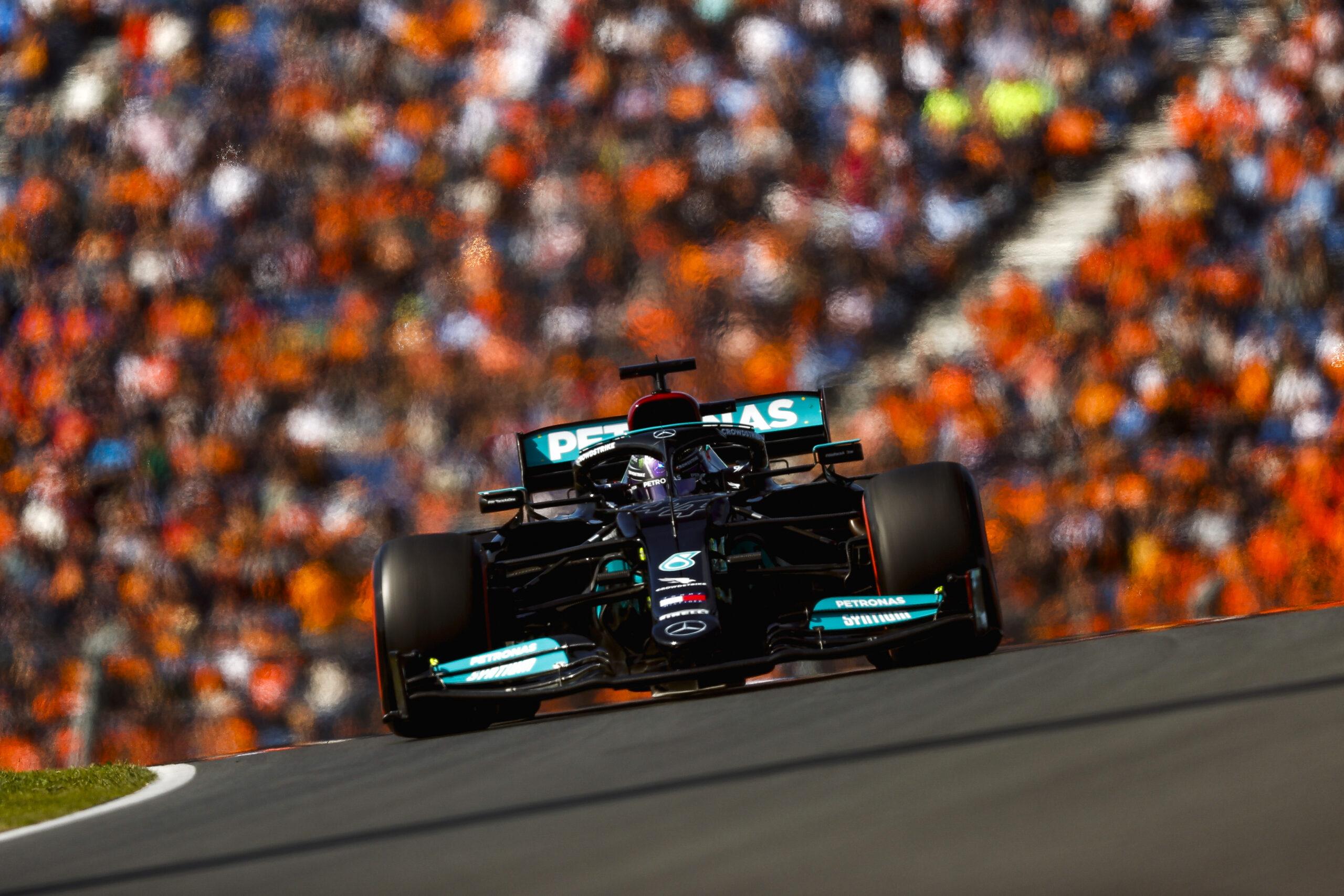 Lewis Hamilton na torze Zandvoort