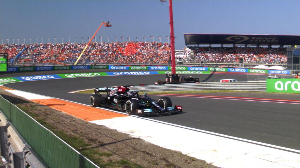 Piątkowe treningi przed GP Holandii na Zandvoort dla Hamiltona i Leclerca