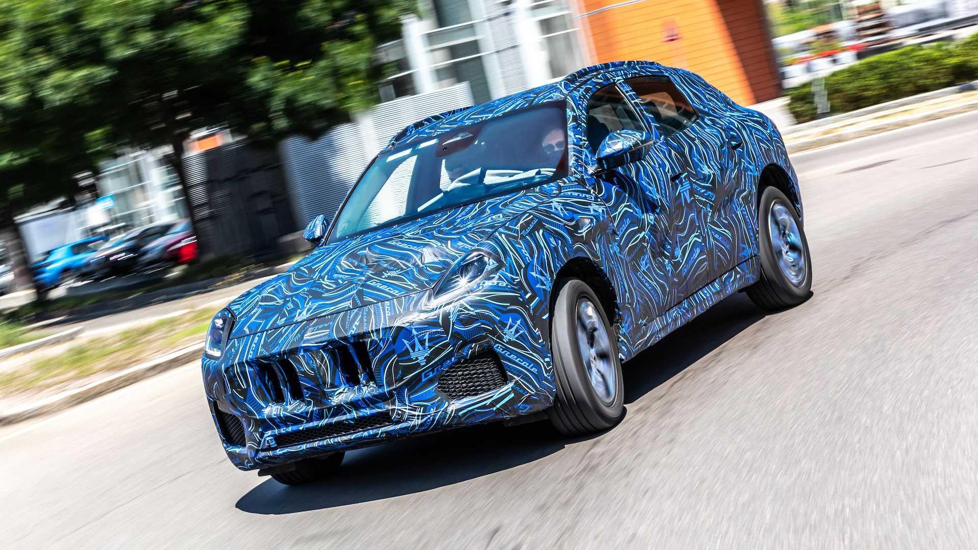 Maserati Grecale zostanie zaprezentowane już 16 listopada 2021 roku