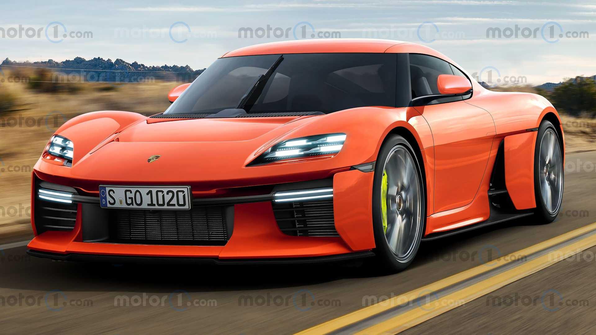 Porsche Mission R w wersji produkcyjnej - zalążek nowego Caymana?