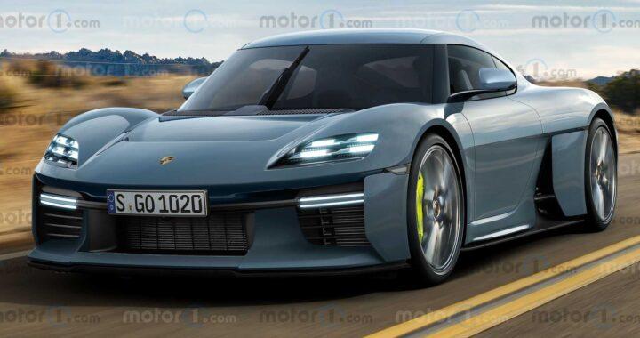 Porsche Mission R w wersji produkcyjnej – zalążek nowego Caymana?