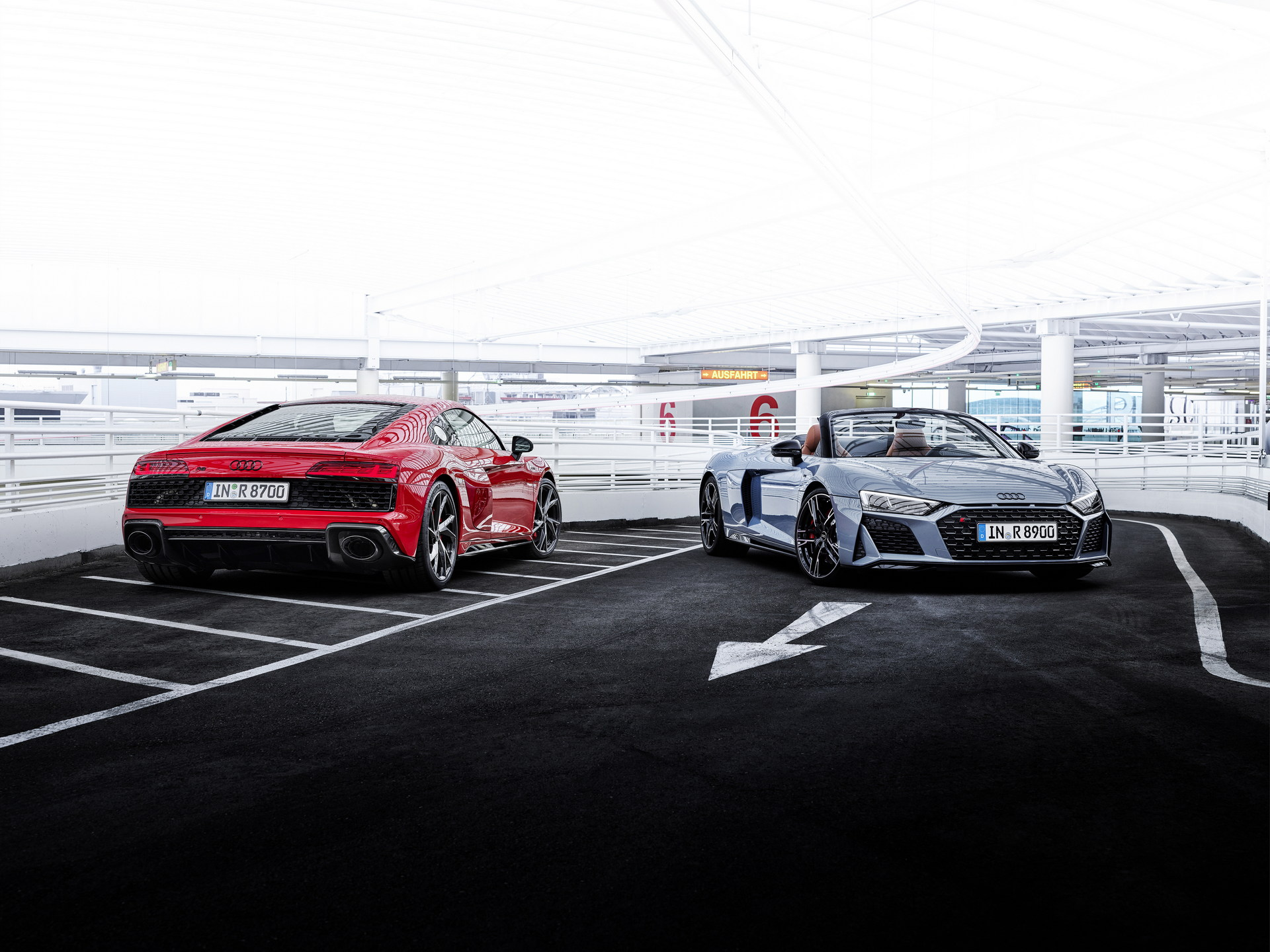 Audi R8 w wersji z tylnym napędem otrzyma wyższą moc od 2022 roku