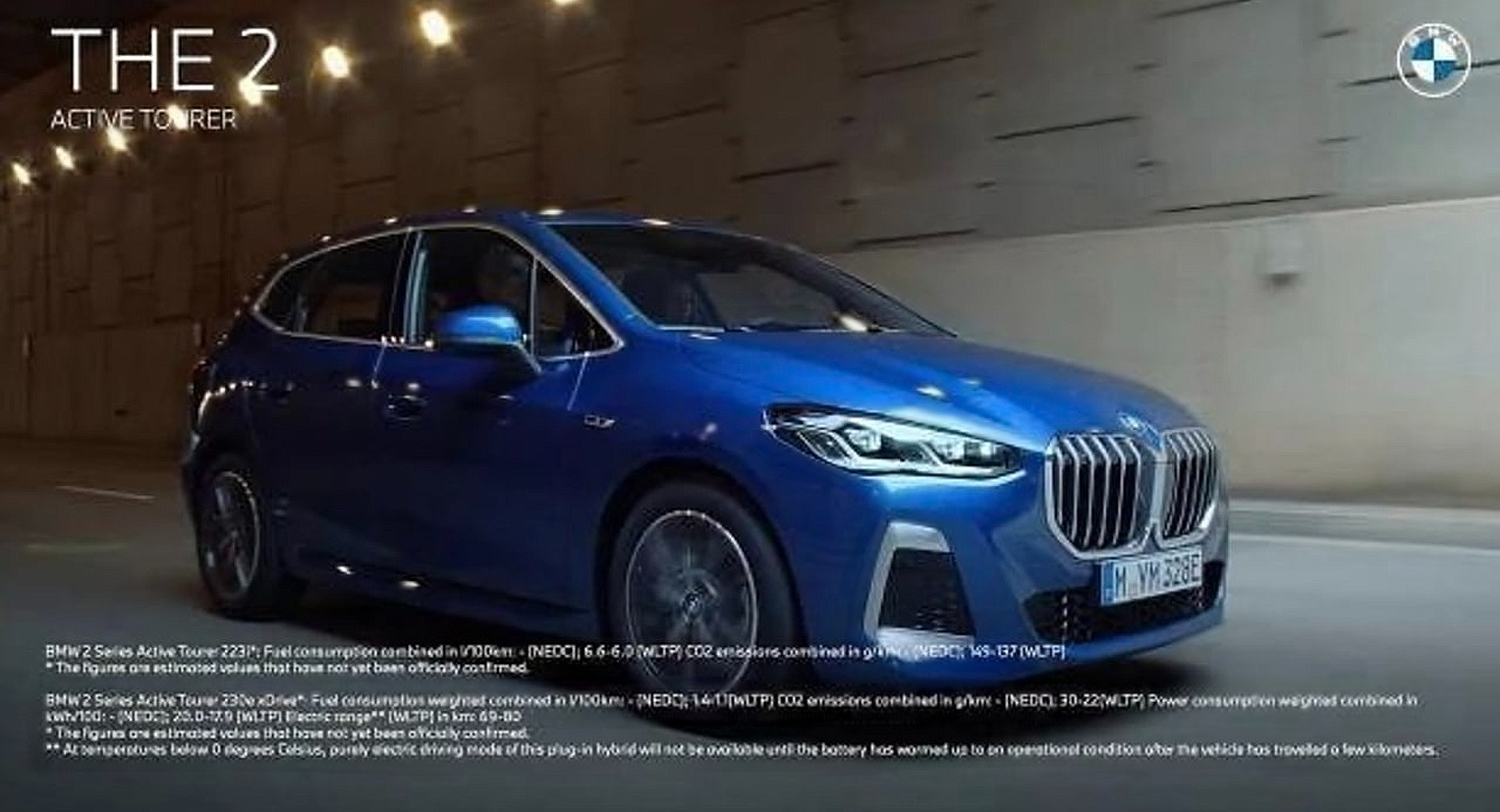 BMW serii 2 Active Tourer - wyciekły oficjalne zdjęcia nowej generacji