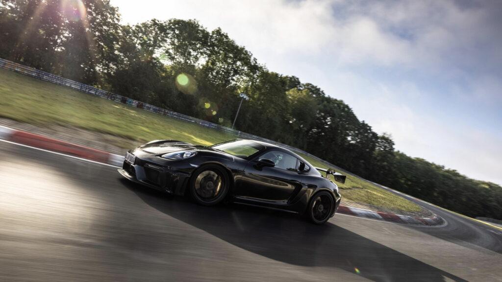 Cayman GT4 RS z oficjalnym czasem na Nurburgringu – premiera niedługo