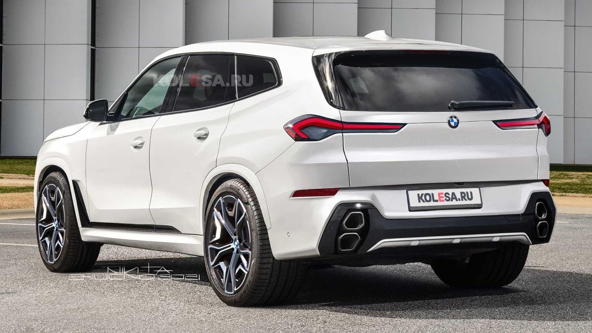 Czy BMW zdecyduje się na aż tak kontrowersyjny design BMW X8?