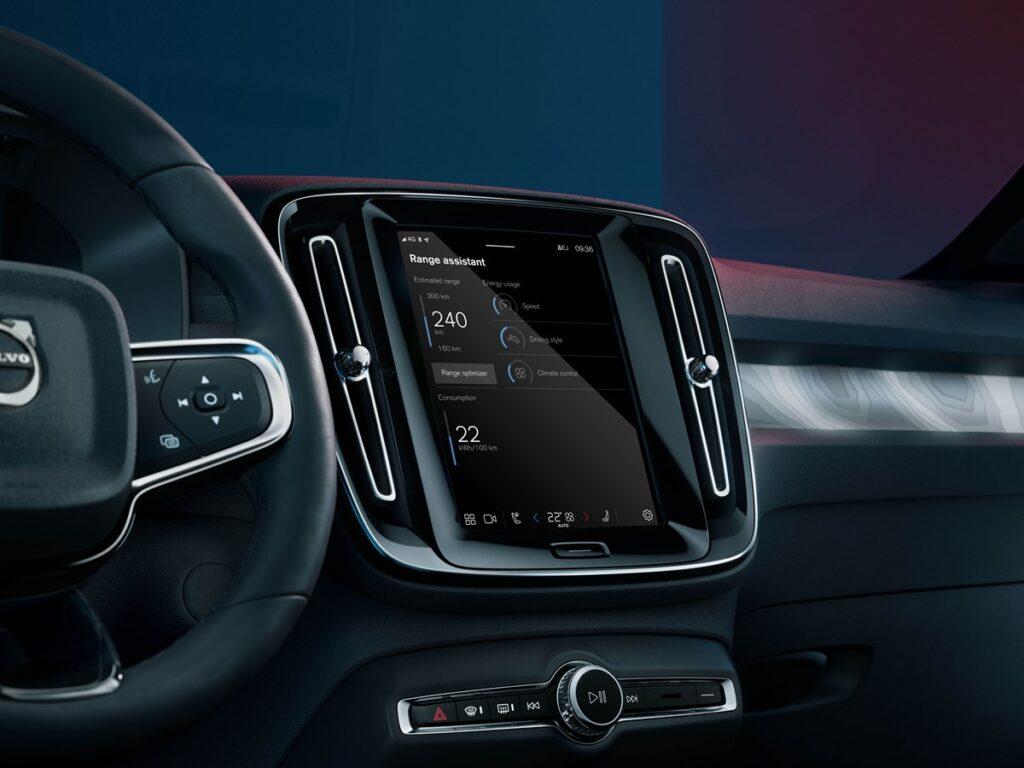 Volvo prezentuje Range Assistant App, dzięki której wydłużysz zasięg elektryka