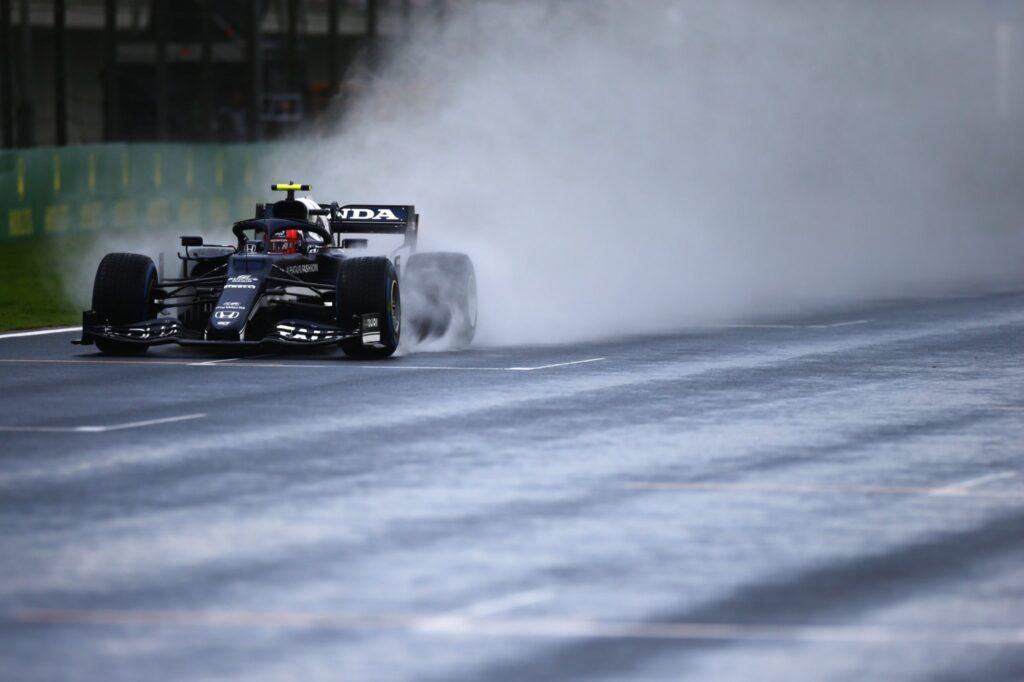 Pierre Gasly podczas FP3 przed Grand Prix Turcji