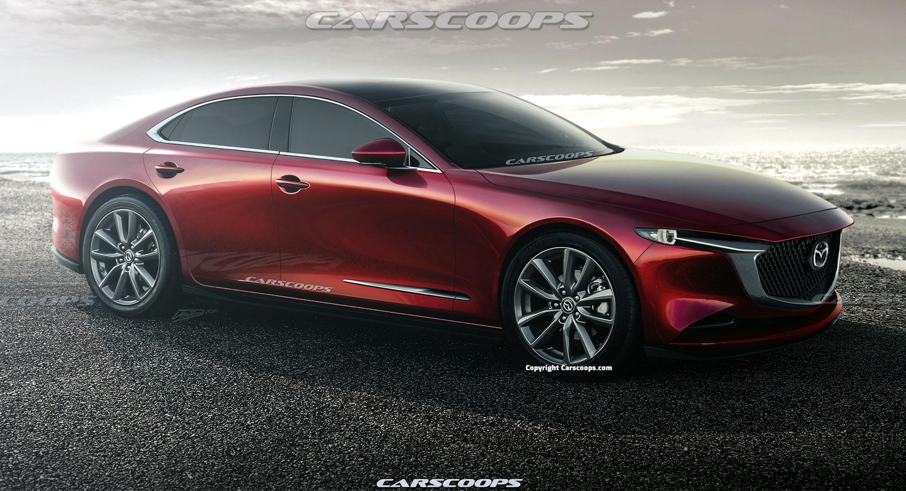 Nowa Mazda 6 ma trafić na rynek w 2022 z 6-cylindrowymi jednostkami