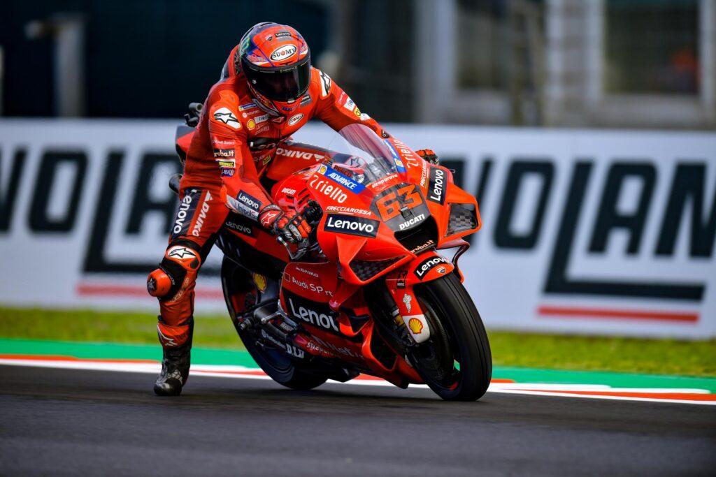 Francesco Bagnaia ruszy z Pole Position do Grand Prix Emilii Romanii