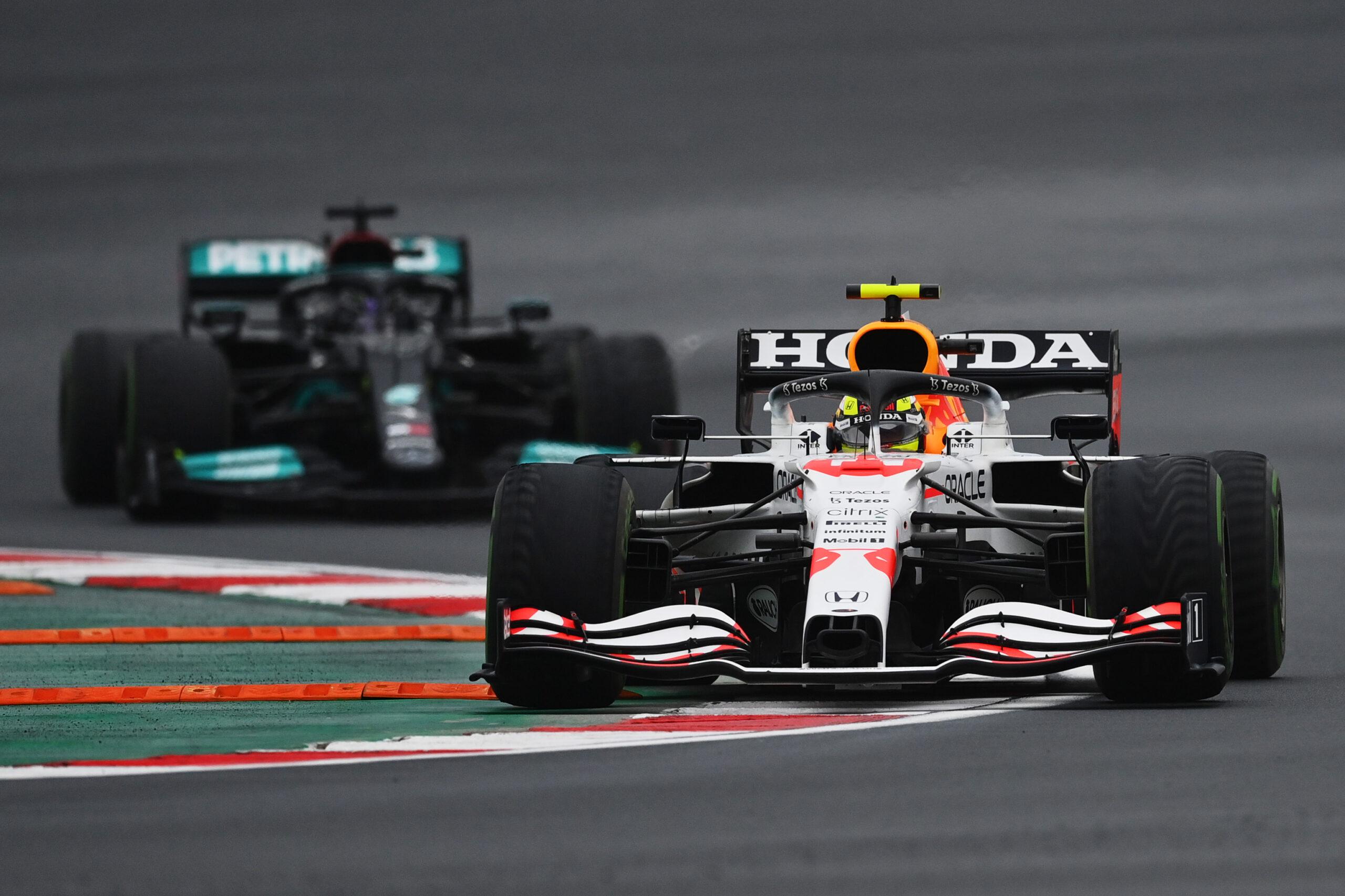 Sergio Perez; Lewis Hamilton